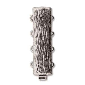 4 Strand Clasp Silver (Elegant Elements)
