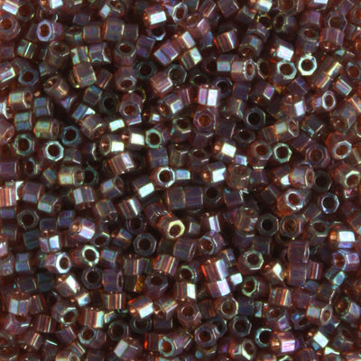 DBH0122 Transparent Luster Rainbow Brown