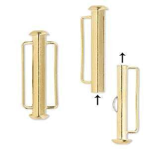 26mm Slide Clasp Gold