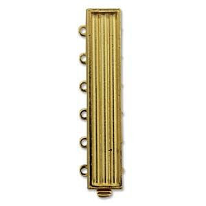 6 Strand Clasp Gold (Elegant Elements)