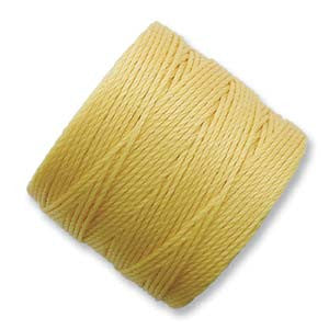 S-Lon Bead Cord Golden Yellow