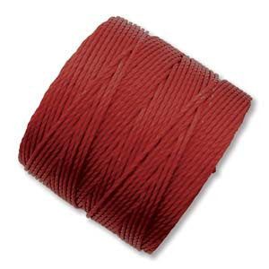 S-Lon Bead Cord Dark Red