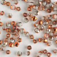 True 2mm Round Fire Polish Crystal Sunset