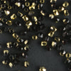 True 2mm Round Fire Polish Jet Amber