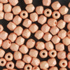 3mm Round Fire Polish Saturated Peach