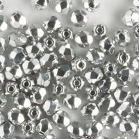 3mm Round Fire Polish Silver