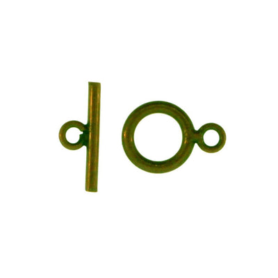 Toggle Clasp Antique Brass