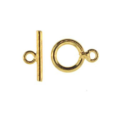 Toggle Clasp Gold