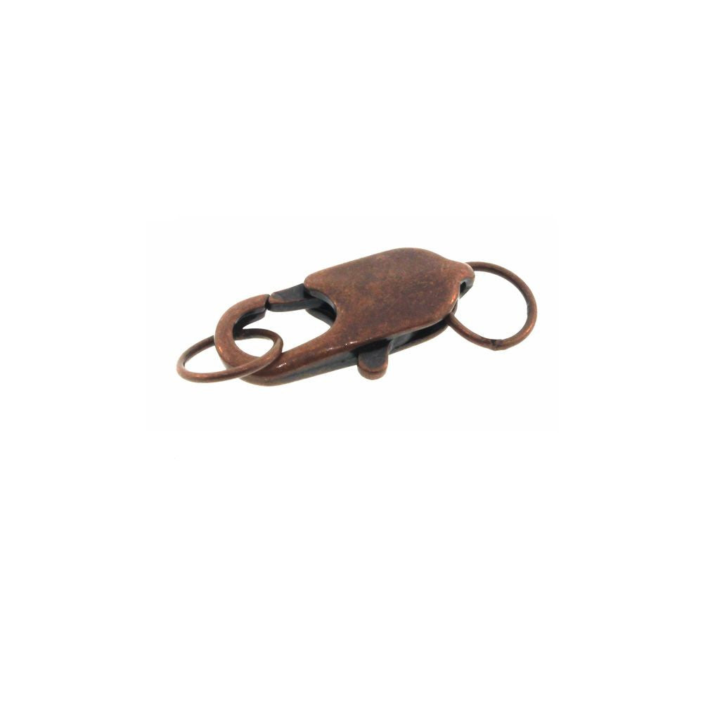 Lobster Clasp Antique Copper