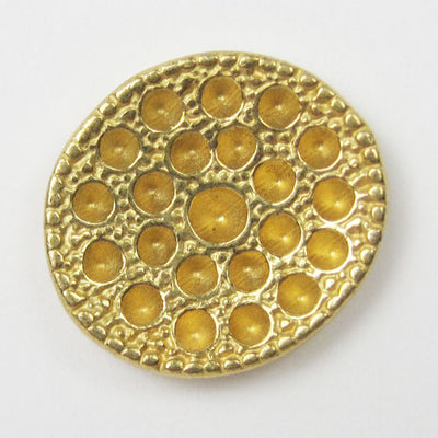 Metal Button Gold