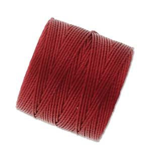 S-Lon Bead Cord Red Hot