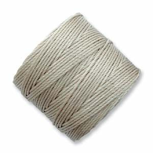 S-Lon Bead Cord Light Grey