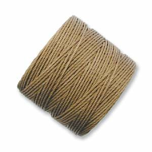 S-Lon Bead Cord Medium Brown