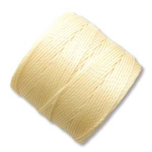 S-Lon Bead Cord Pale Yellow