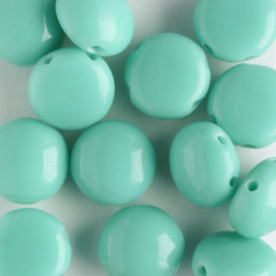 Candy Round Opaque Turquoise