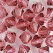 6mm Bicone French Rose (Preciosa)