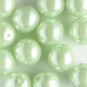 8mm Glass Pearl Mint