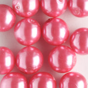 8mm Glass Pearl Dragon Fruit