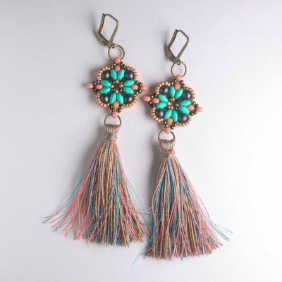 Lisette Earring Kit - Copper Mist