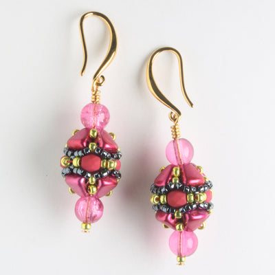 Volterra Earring Kit - Tickled Pink