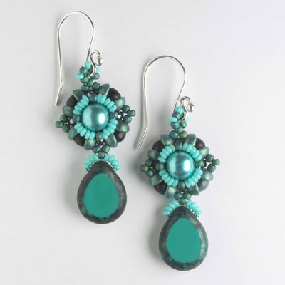 L'Amour Earrings - Turquoise