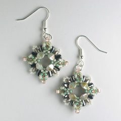 Chiara Earring Kit - Evergreen Fog