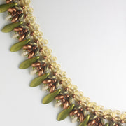 Palmetto Necklace Kit - Copper Wasabi