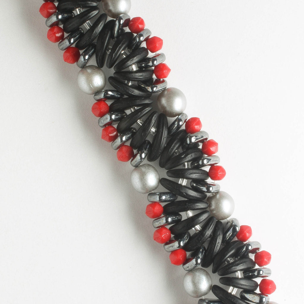 Winding Current Bracelet Kit - Lava Rock