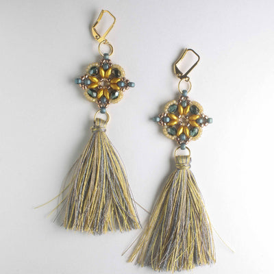 Lisette Earring Kit - Montana Maize