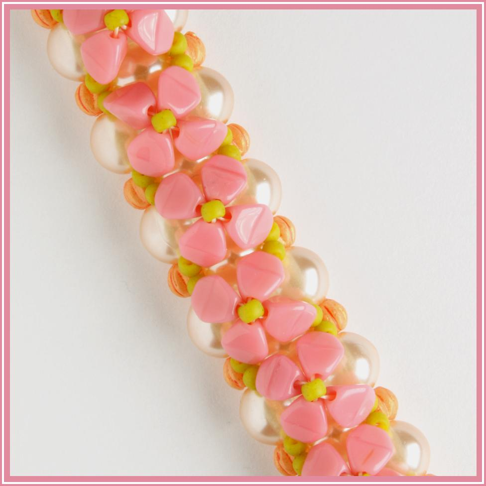 Sweet Alyssum Bracelet Kit - Pink
