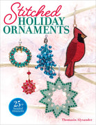 Stitched Holiday Ornaments - Thomasin Alyxander