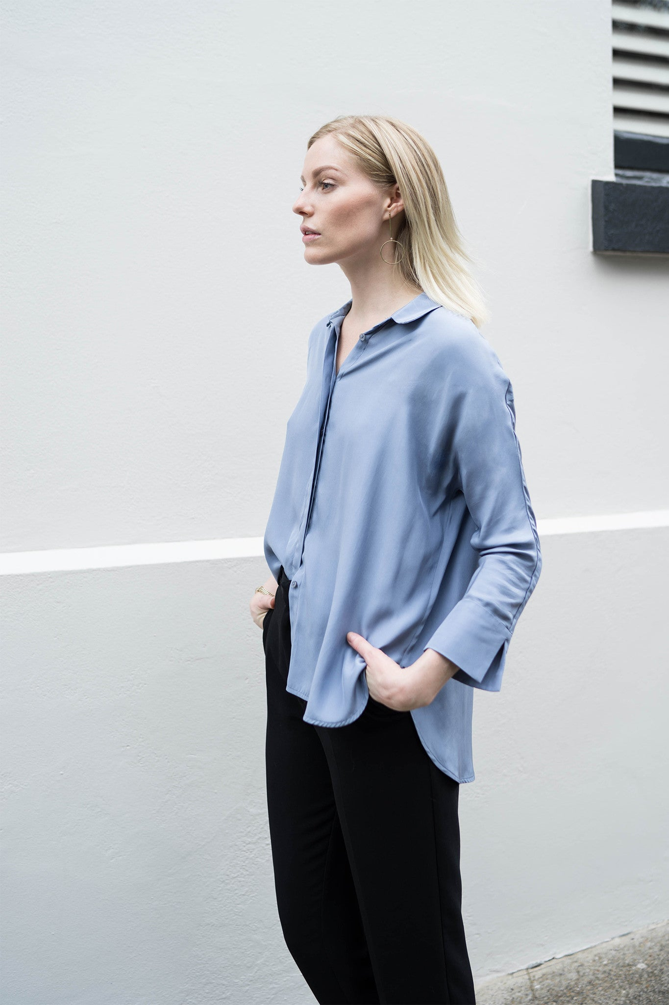 5276e69707a3eb ... silk shirts can be the perfect way to finish off your special outfit. An  oversized shirt