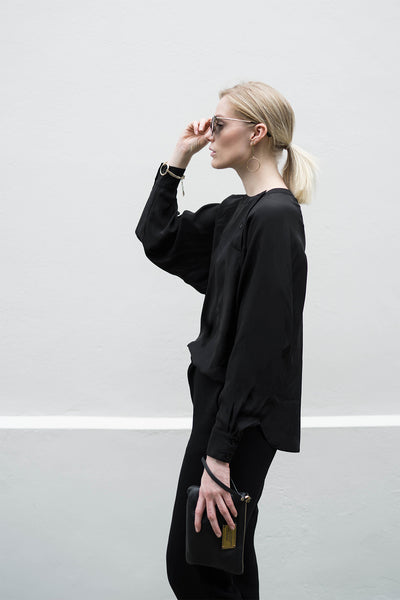 Willow Silk Blouse - clémence