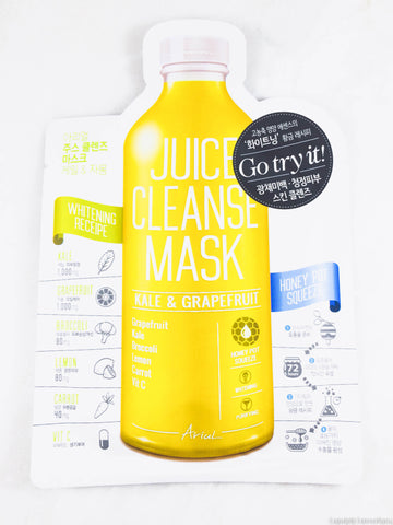 Ariul Juice Cleanse Mask - Kale & Grapefruit
