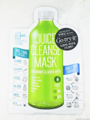 Ariul Juice Cleanse Mask - Spearmint & Green Apple