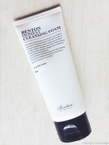 benton honest cleansing foam korean skincare kbeauty