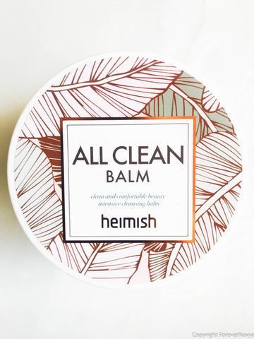Heimish All Clean Balm oil cleanser