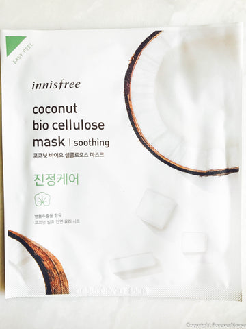 Innisfree Coconut Bio Cellulose Mask Soothing