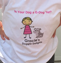 Load image into Gallery viewer, Customized Gracie's Doggie Delights T-Shirt - Gracie's Doggie Delights