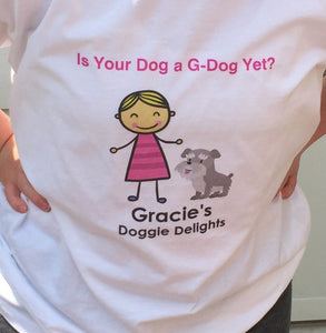 Customized Gracie's Doggie Delights T-Shirt - Gracie's Doggie Delights