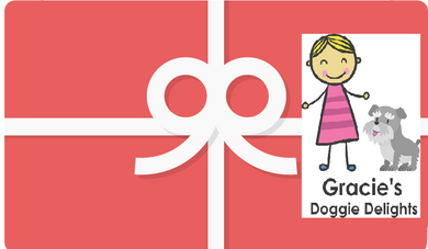Gift Card - Gracie's Doggie Delights