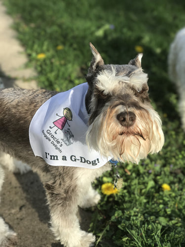 Gracie's Doggie Delight G-Dog Bandana