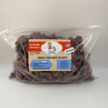 Load image into Gallery viewer, Gracie's Pork Heart Delights Freeze Dried Dog Treats