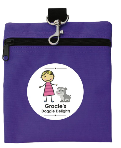 Gracie Doggie Delight Treat Tote - Gracie's Doggie Delights
