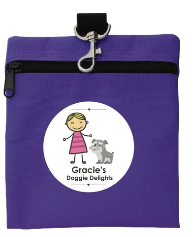 Gracie Doggie Delight Treat Tote