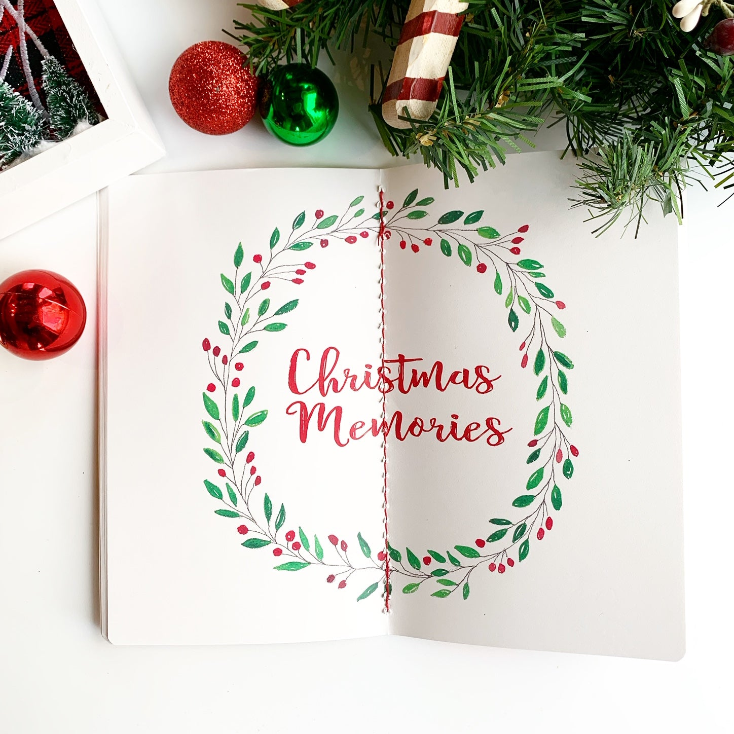 Christmas Planner Christmas Memories Pages