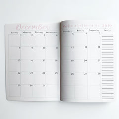 Menu Planner Monthly Calendar