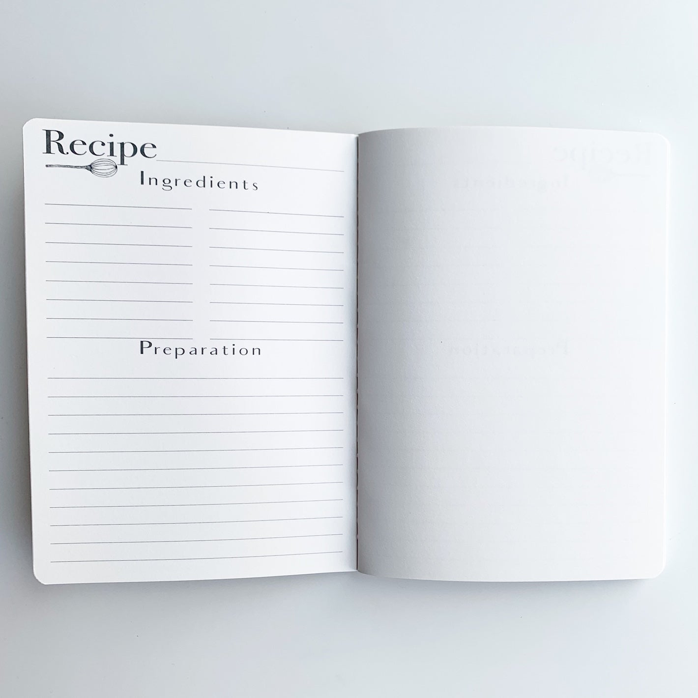 Recipe Book Pages