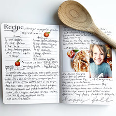 Recipe Book Pages in Action