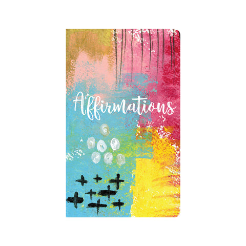 Affirmations Abstract Art Journal